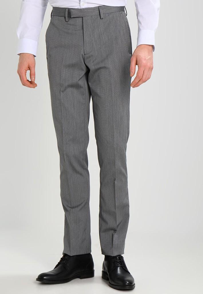 Pantalon de costume gris Célio pour seulement 49.99€