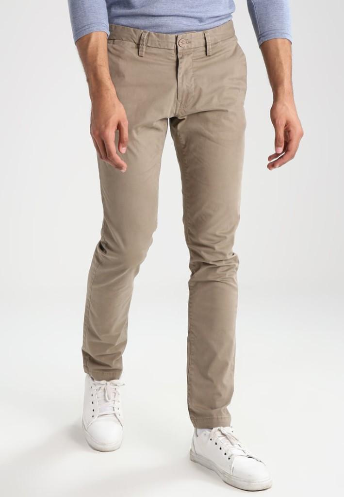 Pantalon chino beige Teddy Smith pour seulement 59.90€