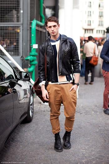 mettre un pantalon avec des bottine homme